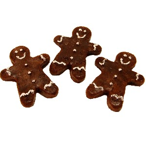 Gingerbread Fake Cookie 3 Piece