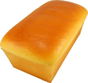 Loaf of White Fake Bread