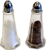 Salt and Pepper fake display items