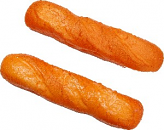"Baguette Small Fake Bread 12"" Two Pack"