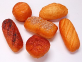 Bread Rolls 6 pack Assorted Fake Bread