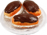 3pc Eclair on acrylic plate USA