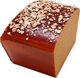 Artisan Fake Bread Wheat Loaf Half