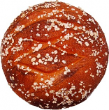 Artisan Wheat Fake Round Bread