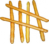 Bread Sticks 6 piece Fake Bread
