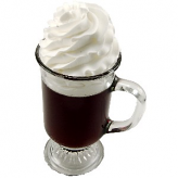 Irish Coffee Fake Drink