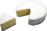 Brie Fake Cheese with Slice