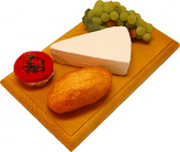 Brie Wedge Fake Cheese Combo on Board USA