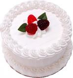 "Vanilla 6"" Fake Cake U.S.A."