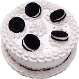 Cookie and Cream fake cake 9 inch USA