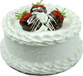 Strawberry Coconut Fake Cake 9 inch