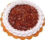 Pecan Cream Artificial Pie Whole Fake Pie