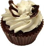 Chocolate Butterfly Fake Cupcake USA