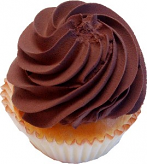Chocolate Fake Cupcake