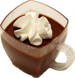Mini Coffee Cup Fake Dessert