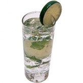 Mojito Glass Fake Drink USA