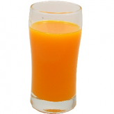 Orange Juice fake drink Glass USA