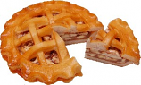 Apple Artificial Pie with Slice Fake Pie
