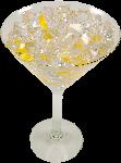 Vodka on the rocks Glass fake drink USA