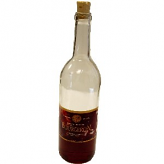 Red Wine Bottle Glass fake drink USA