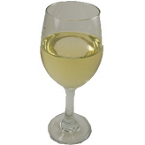 White Wine Large Glass fake drink USA