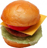 Cheeseburger fake food USA