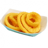 Onion Rings Fried 5 piece fake food USA