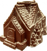 Gingerbread House Soft Touch USA