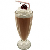 Chocolate Fake Food Milkshake Artificial Ice Cream