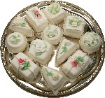 Mini Fakey Decorative Cakes 12 pack Petit Fours Assortment USA