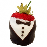Tuxedo chocolate dipped strawberry USA
