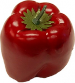 Red Bell Pepper fake vegetable