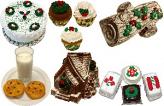 Christmas Fake Food 14pc Pack U.S.A.
