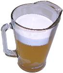 Beer Pitcher Glass fake drink USA