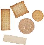 5 Piece Assorted fake Biscuits