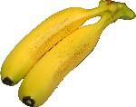 Banana Five Cluster fake fruit