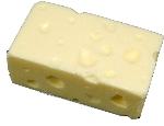 Swiss Block Fake Cheese
