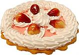 Strawberry Cream Artificial Pie Fragrance Fake Pie USA