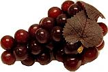 Grapes Burgundy 5-1/2 inch fake fruit