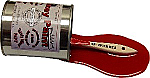 Red Spill Paint with Brush USA