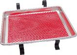 Small Car Hop Tray with Red Mat 13 x 12