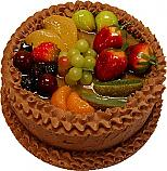 Chocolate Fake Fruit Cake