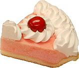 Cherry Cream Fake Pie Slice USA