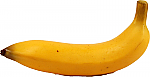 Banana fake fruit