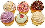 Fake Cupcakes 6 Pack Assortment USA