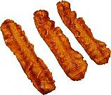 Bacon Strip 3 Piece Fake Food U.S.A.