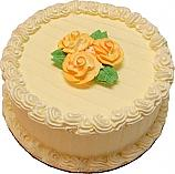 Lemon Designer Rose Fake Cake 9 inch U.S.A.