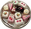 Mini Fakey Cakes 12 pack Assortment Petit Fours USA