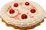 Cherry Cream Artificial Pie Fake Pie USA