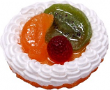 Mixed Fake Fruit Tart 3 inch